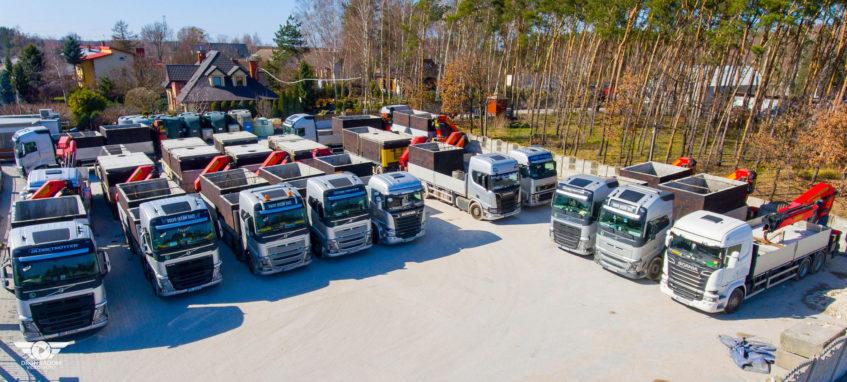 20 nových nákladních vozidel