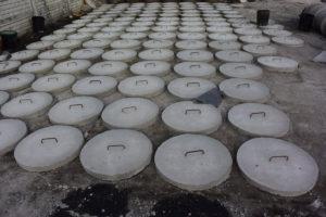 Poklopy na betonové jímky