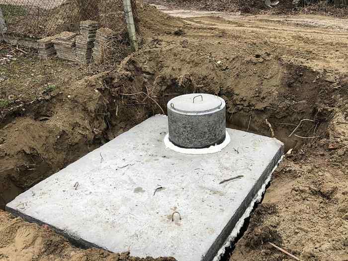betonova jimka usazeni Dobříš